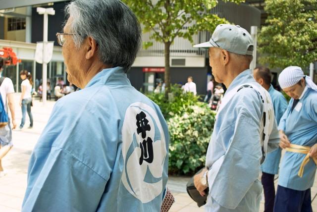 Summer Matsuri Festival Participants