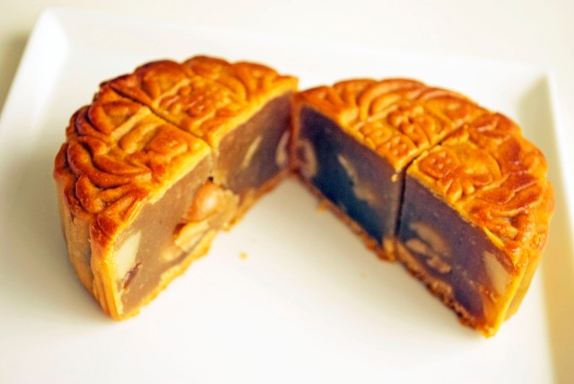 Moon Cake from Singapore International Foodie Pen Pal Reveal