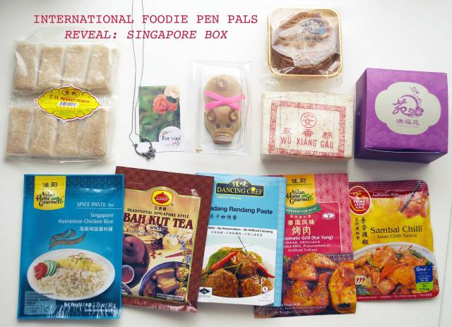 Foodie Pen Pal International Reveal Singapore from intriguedwith.blogspot.com