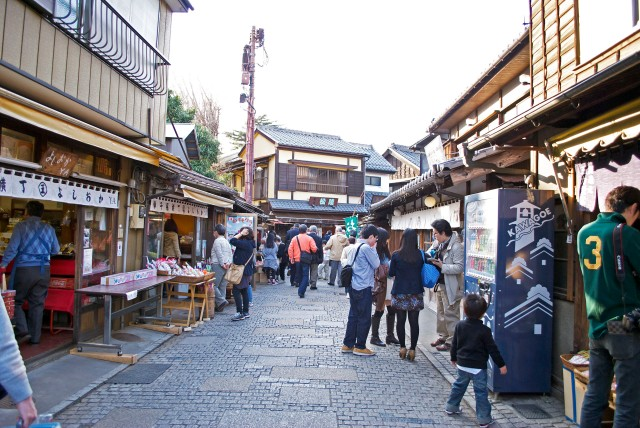 Kawagoe: Little Edo Historic Japanese Town Penny Candy Alley by oh my omiyage